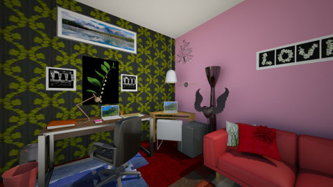 Study Room 1 - by Tiachiel