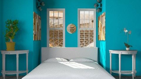 blue lagoon - Modern - Bedroom - by lavilavinia