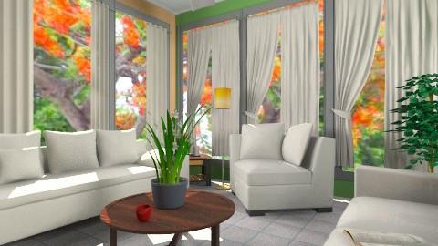 Mine Livroom - Living room - by ColoryApriLove