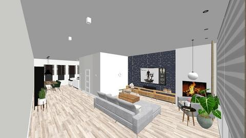 Begane grond 1 - Living room - by srahh