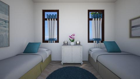 guest room - Minimal - Bedroom - by chime