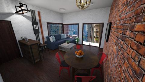 City Studio Appartment - Retro - by rlav2