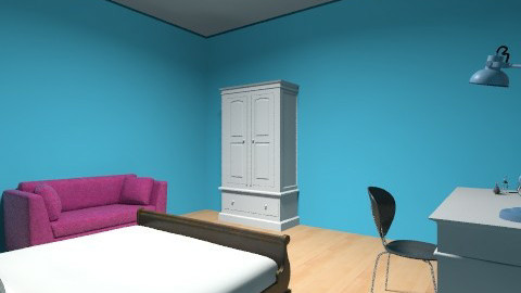 Bright Bedroom - Feminine - Bedroom - by ept101