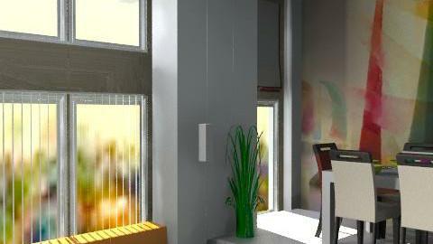 LA Loft - Minimal - Living room - by PomBom