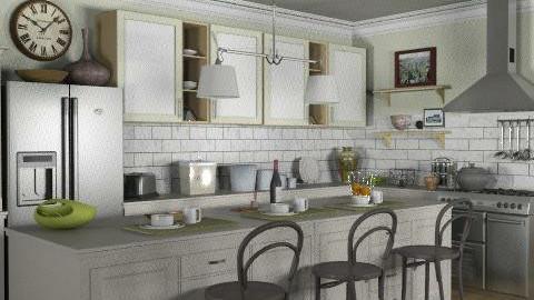 Beach House - Kitchen 2 - Kitchen - by leahjane