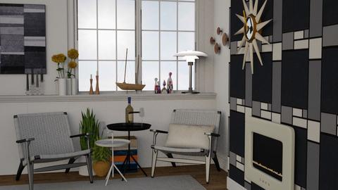Scandinavian - Minimal - Living room - by HenkRetro1960