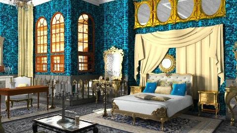 Rudolf's Bedroom - Classic - Bedroom - by Bibiche