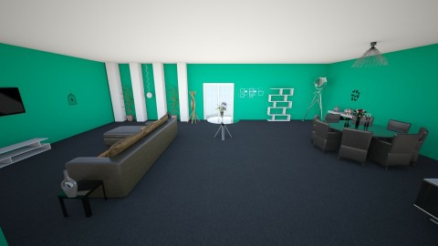 1D - Masculine - Living room - by mafc1997
