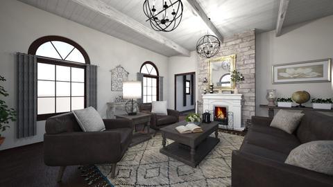 Dream Living Room - Vintage - Living room - by MessyArtwok
