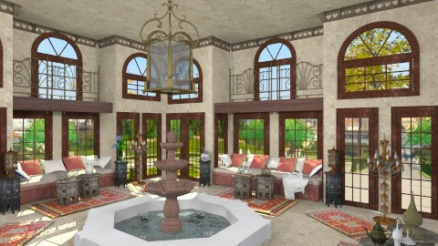 Harem - Classic - Living room - by XValidze