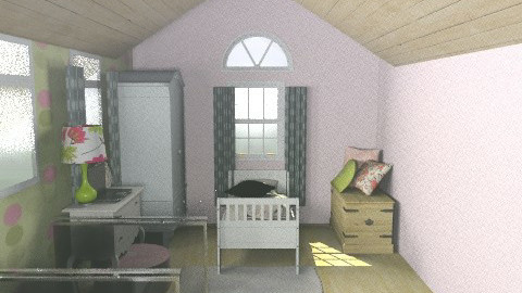 attic room - Rustic - Kids room - by BethB