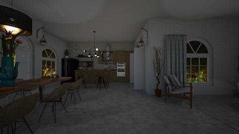 Design 19 HJFM - Modern - Kitchen - by michellitamuralles