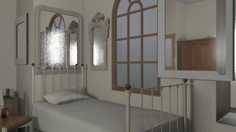 tragic room - Rustic - Bedroom - by laurabeacham97