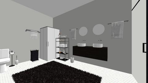 master bathroom - Modern - Bathroom - by ellalovesdesign394