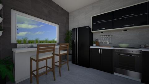Urban jungle - Kitchen - by Jante03