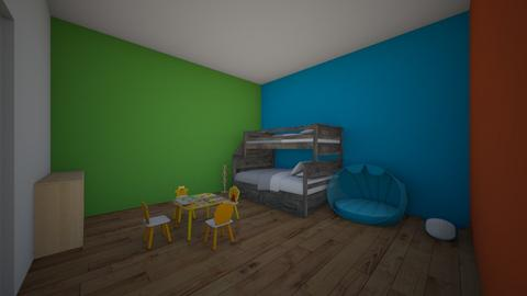 My Office - Kids room - by color68