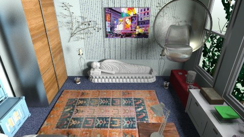 bleh - Bedroom - by BlackVelve7