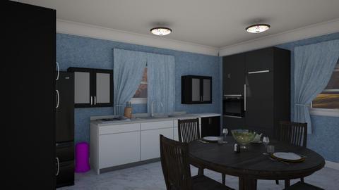 Butler Kitchen - Classic - Kitchen - by alonatech_2nd