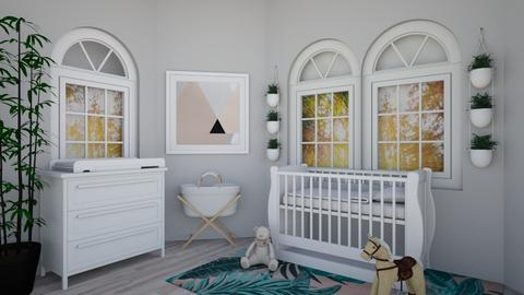 baby jungle delight - Kids room - by nathalievutie334