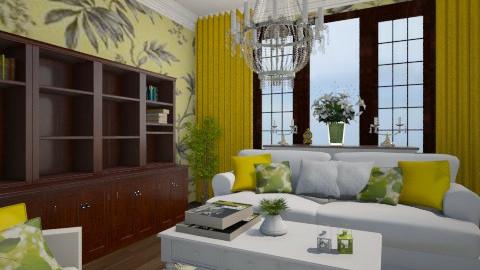 AMARELO - Living room - by Elisa Gate