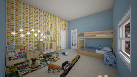 Kids Playing Room - Kids room - by RoomstylerSusan