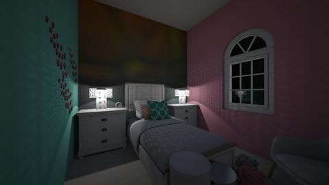 Mermaid_Bed - Kids room - by RaeCam