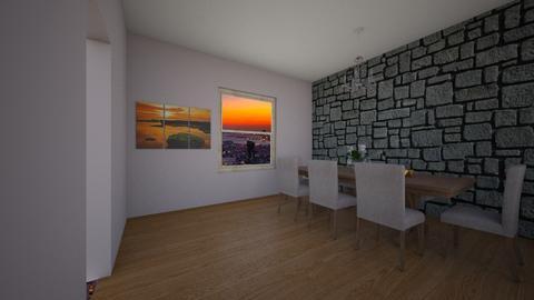 dining room - by caitlync16