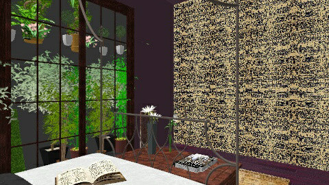 Small spaces - Rustic - Bedroom - by BlackVelve7