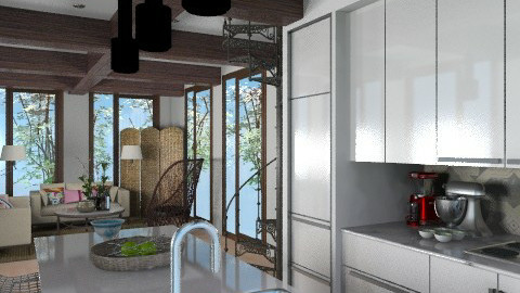 Elegant Holiday - Glamour - Kitchen - by 3rdfloor