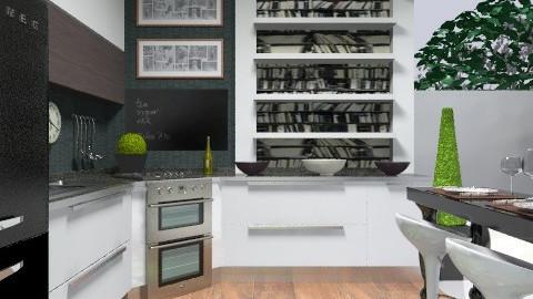 3x3 kitchen - Glamour - Kitchen - by du321