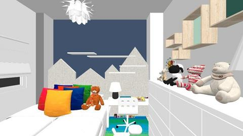William Logan bedroom - Kids room - by evanemeti