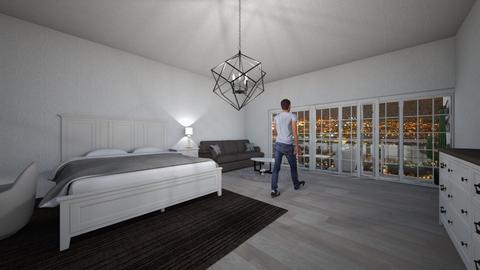 hotel bedroom - Modern - by haithanh