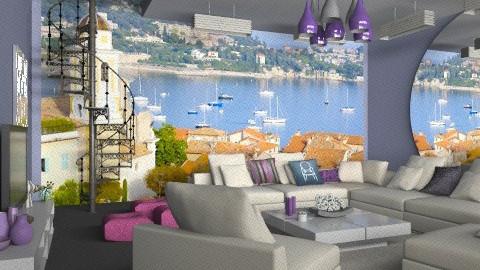 saint-tropez 1 - Classic - Living room - by calu13