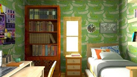 pieza wandita - Rustic - Bedroom - by puentecita