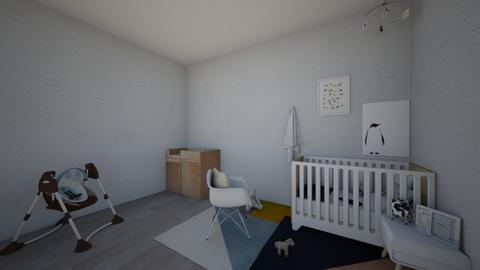 baby boy - Kids room - by Mirre_
