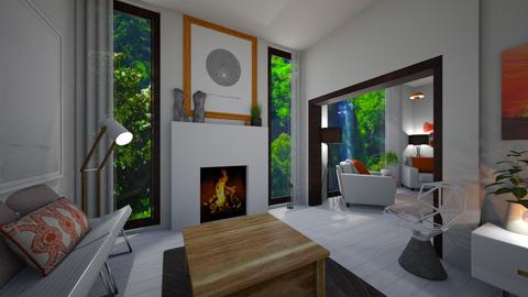 Homeland  - Living room - by timeandplace