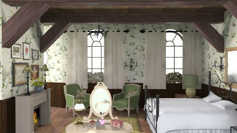 Bedroom 2 - Rustic - Bedroom - by M_Lane