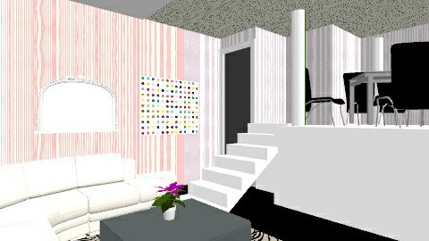 living and dining - Living room - by asdfghjkl_krys
