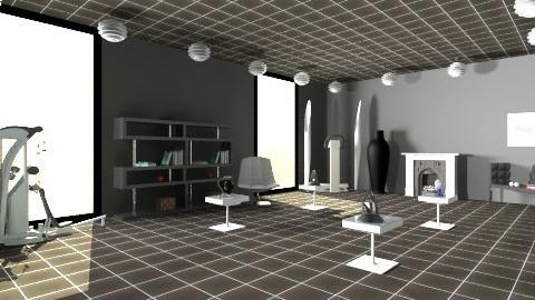 Dark Lair - Modern - Office - by HGranger2