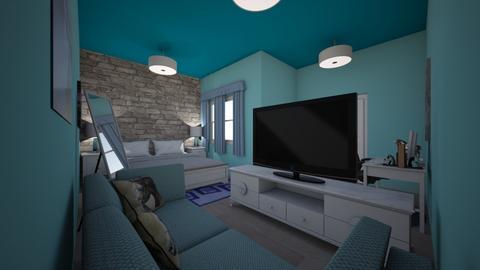 Julia room - Bedroom - by Creativelittlewoman23