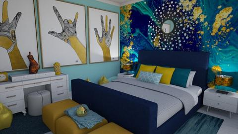 Mural Room - Bedroom - by LooseThreads