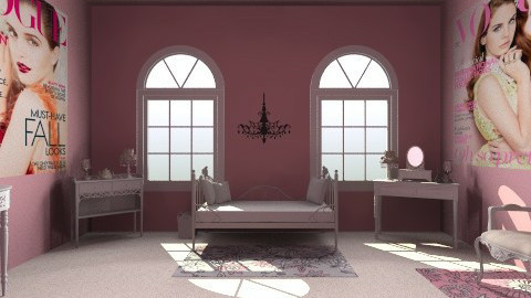 Vouge Chic - Glamour - Bedroom - by HGranger2