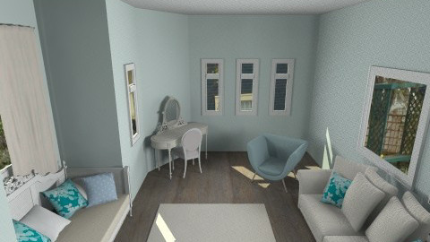 Day Nook - Feminine - Bedroom - by so_lejit135