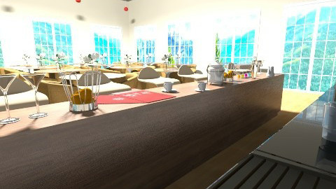 Restaurant - Modern - Kitchen - by Berenice Alonso
