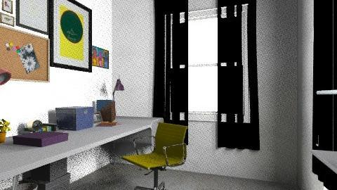 working rooms last4 - Vintage - Office - by bellabravis