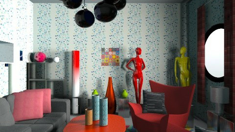 Memphis style2 - Living room - by nesta