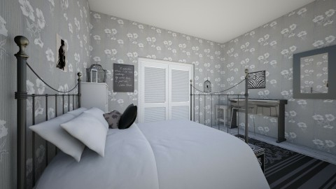 Black and white - Classic - Bedroom - by Roomstyler666