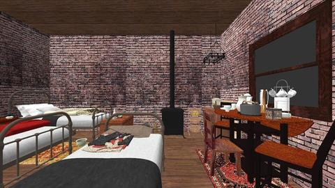 Tenement  - Vintage - Bedroom - by PeculiarLeah