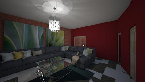 Comfy and cozy - Modern - Living room - by Cat77v