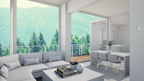 Livingroom016 - Modern - Bathroom - by Ivana J